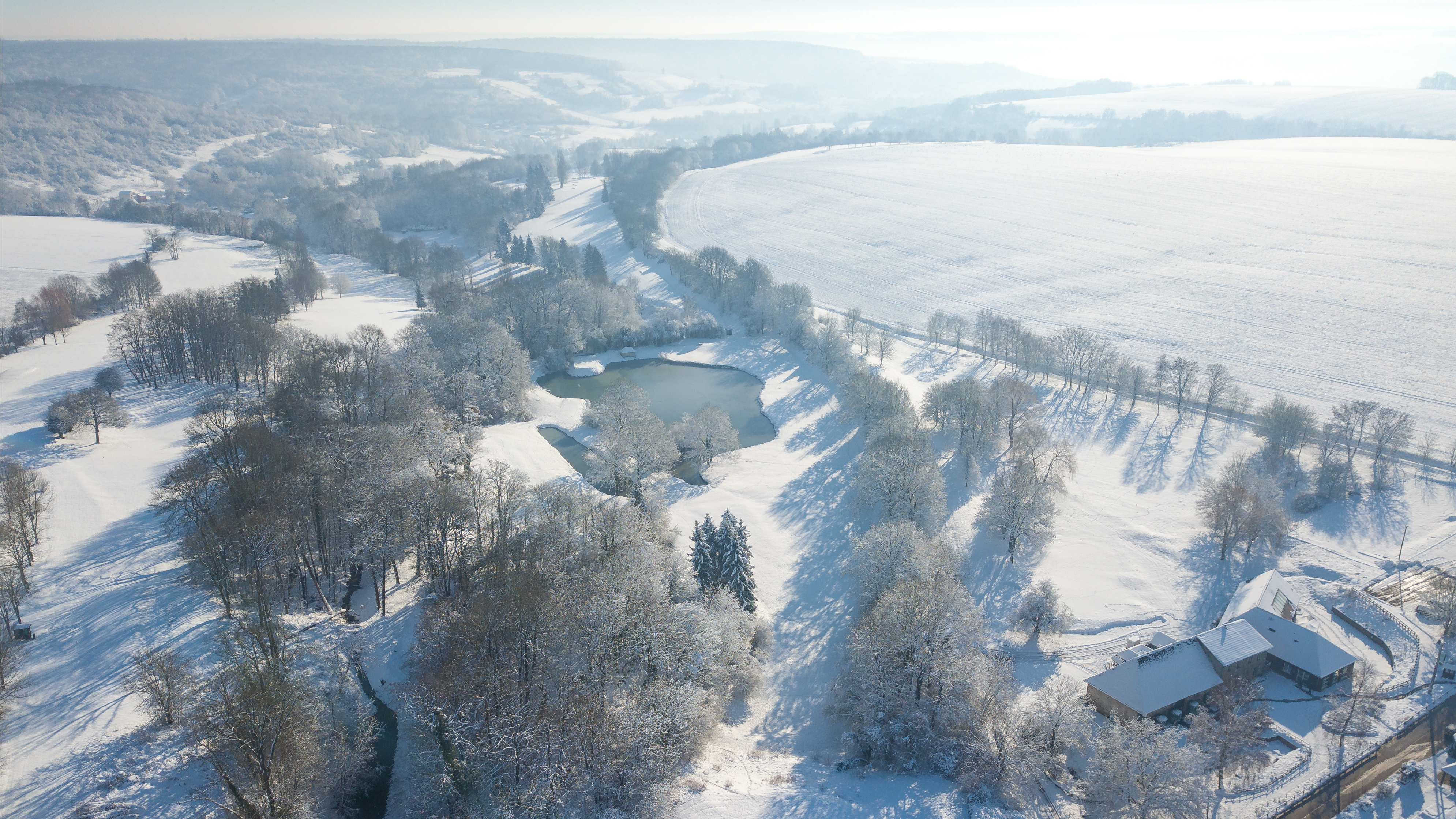 Val Secret sous la neige